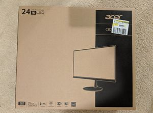 Acer 24 inch ips monitor for Sale in Frederick, MD