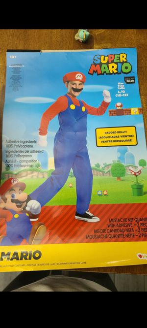 Super Mario Costume for Sale in Mesquite, TX