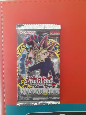 ioc pack yugioh invasion of chaos for Sale in Las Vegas, NV