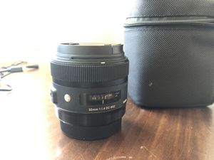 Sigma 30mm 1.4 canon for Sale in San Diego, CA