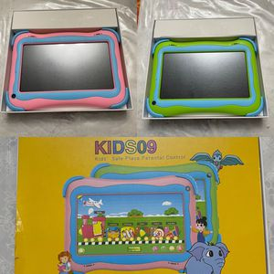 Kids Tablet, 7 inch IPS Display, iWAWA Pre Installed, 2G/16GB WiFi Android Tablet, Dual Camera, Bluetooth, Kids-Proof Tablet for Kids /Green or Pink A for Sale in Fontana, CA