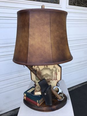 GENUINE NIGHTWATCH ANTIQUE LAMP for Sale in Garden Grove, CA