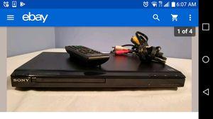 Sony DVD Model: DVP-SR101P for Sale in San Antonio, TX