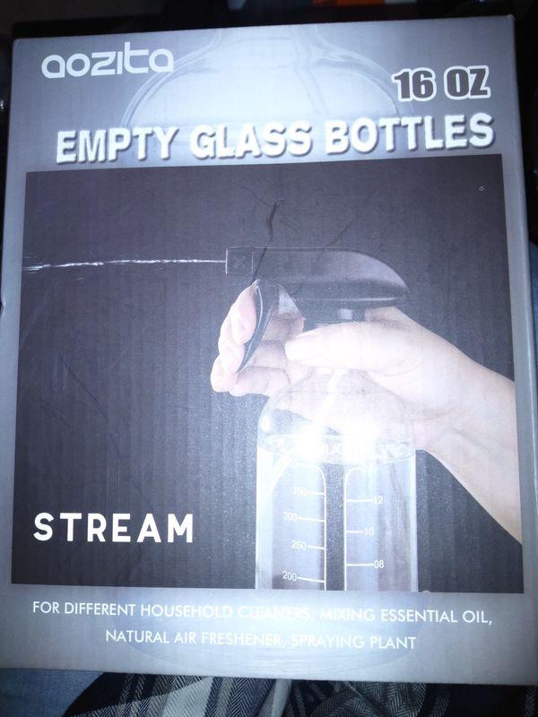 Aozita Glass Spray Bottles