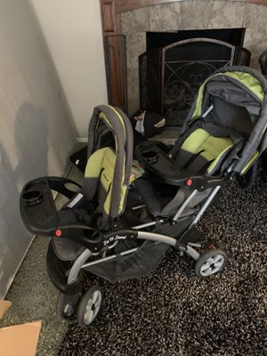 Sit n stand double stroller for Sale in South Jordan, UT