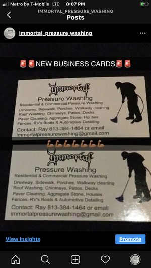 Pressure washer service for Sale in Riverview, FL