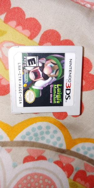 Luigi's mansion dark moon for 3DS for Sale in Lorain, OH
