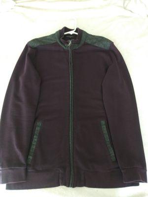 MEN'S (XL) BANANA REPUBLIC (PLUM/GREY) ZIP DRESS/CASUAL LITE JACKET for Sale in San Leandro, CA