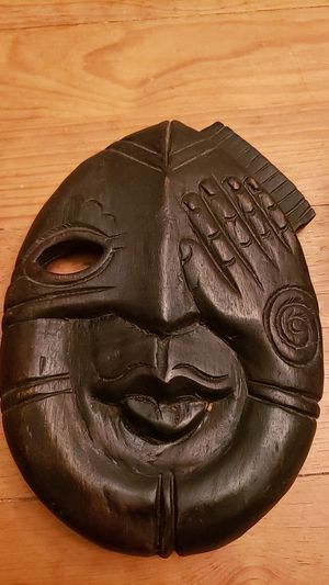 Hand carved Wooden Tribal Mask... for Sale in Kent, WA