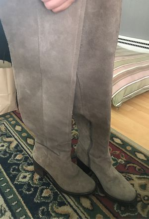 Lucky Brand suede knee high boots sz9 for Sale in Salt Lake City, UT