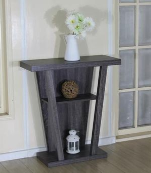 New grey console entry Tsble hallway table for Sale in Orlando, FL