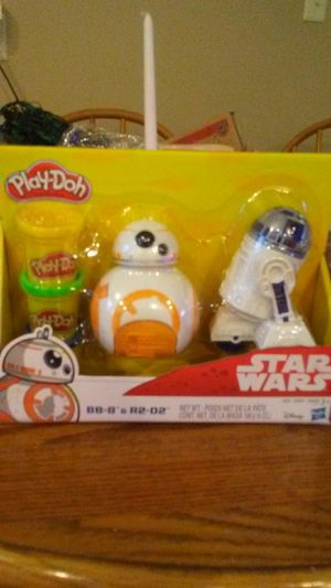 Star wars play-doh set for Sale in Dubuque, IA