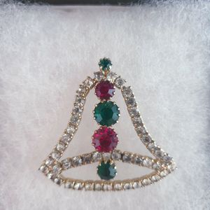 Christmas_Bell_Brooch Pin for Sale in Lake Butler, FL
