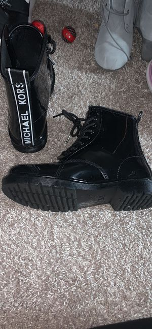 Michael Kors combat boots for Sale in Greenbrier, TN
