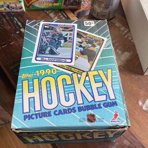 1990-91 Topps Hockey Card Box w/36 Packs for Sale in Murrieta, CA