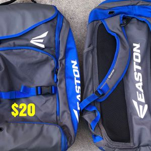 Softball bag in great condition equipped gear bats gloves Easton for Sale in Culver City, CA