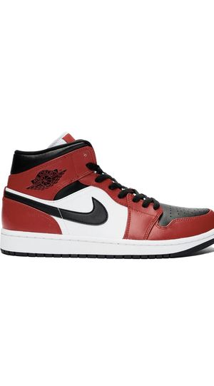 Air Jordan 1 Mid Chicago Black Toe for Sale in Raleigh, NC