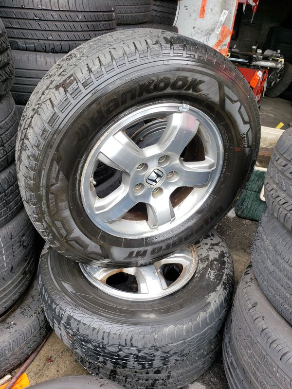 Good condition tires and rims ...4 set