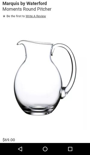 Waterford Crystal Vintage Pitcher for Sale in Everett, WA