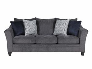 New! Simmons Fabric Sofa + FREE SAME DAY DELIVERY for Sale in Baltimore, MD