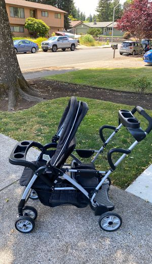 Graco Roomfor2 Stand and Ride Double Stroller for Sale in Beaverton, OR