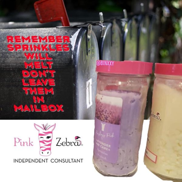 Pink Zebra Sprinkles 'True Lavender'