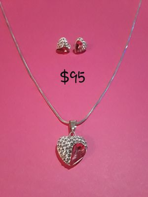 Earrings and charm/chain for Sale in Chicago, IL