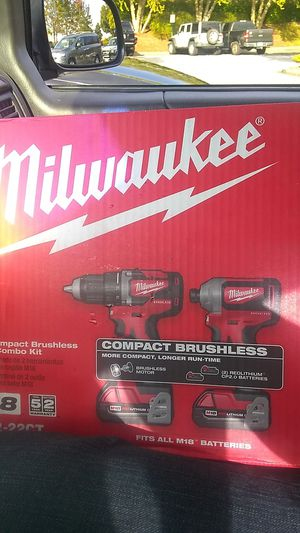 Milwaukee Compact Brushless Drill & Impact Driver for Sale in Acworth, GA