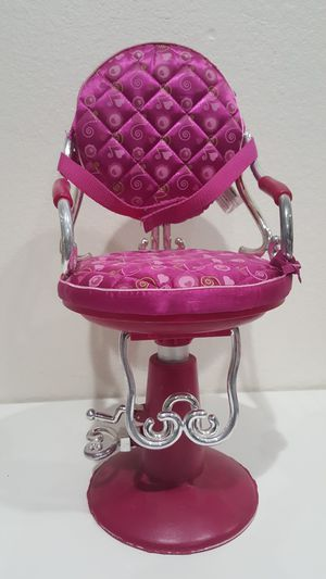 """Chair Hairstyle For 18"""" Dolls for Sale in Henderson, NV"""