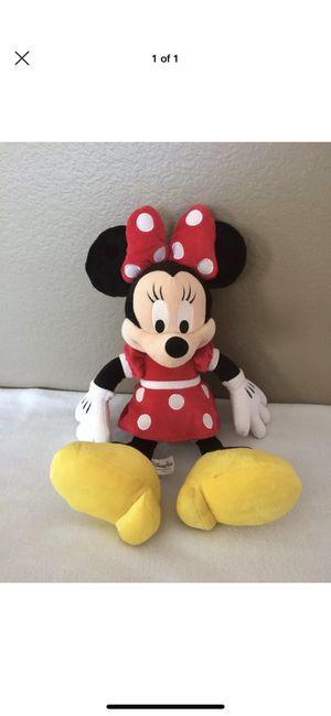 Disney Minnie Mouse 18 Inch Plush Stuffed Animal Red Dress Polka Dots for Sale in Phoenix, AZ