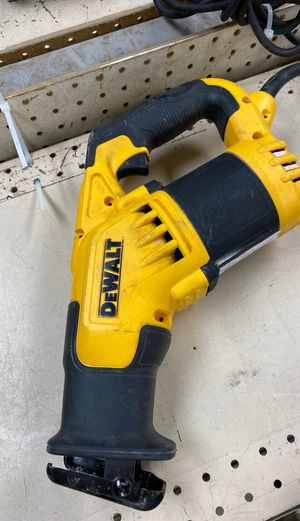 Dewalt corded reciprocating saw for Sale in Austin, TX