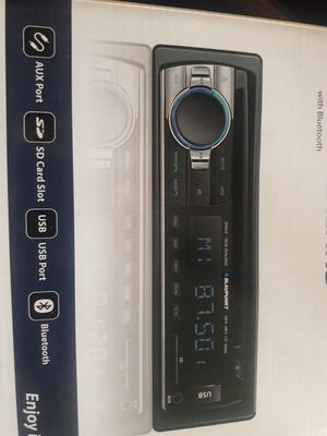 Car STEREO NEW Bluetooth CD USB and Aux AM/FM for Sale in National City, CA