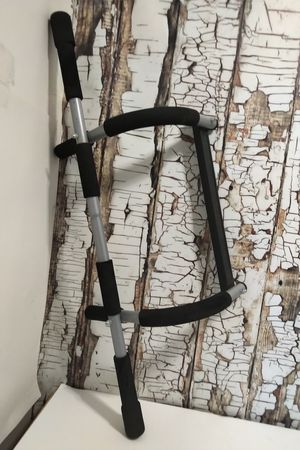 Iron Gym by Pro Fit Pull Up Upper Body Pull up Bar Door Frame Mobile Exercise for Sale in Denver, CO