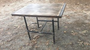 Industrial style table for Sale in Clayton, NC