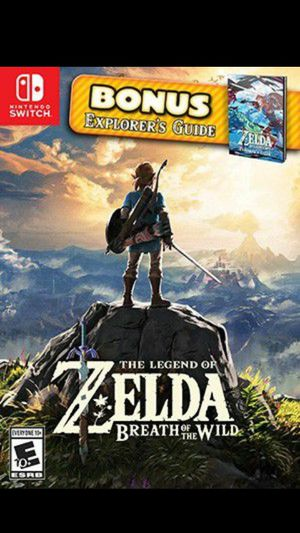 Zelda BOTW Special edition Nintendo switc for Sale in Chula Vista, CA