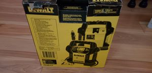 Dewalt jump started and compressor for Sale in Atlanta, GA