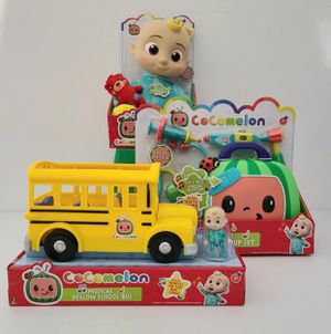 Cocomelon Doll, Musical Bus & Doctor Set! for Sale in Houston, TX