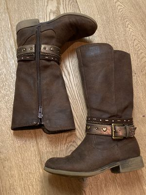 Girls Brown Tall Boots by MIA size 12 for Sale in Hayward, CA