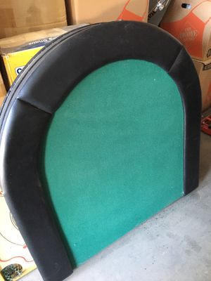 Poker table and chairs for Sale in Victorville, CA