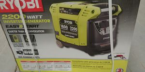 *****Brand new Ryobi inverter generator 2200 watts*** for Sale in Chicago, IL