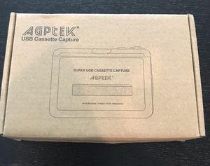 AGPTEK / USB Cassette Capture for Sale in Miami, FL