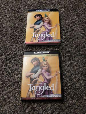 Disney Tangled 4K UHD + Blu-ray (no digital code) for Sale in Fresno, CA