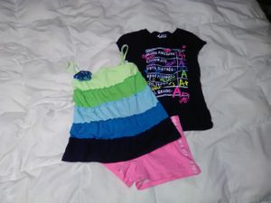 6T Girls Justice Bundle 3 Piece Lot of Clothes Shirts & Shorts for Sale in Glenshaw, PA