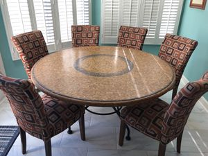 Marble Breakfast Table with Chairs for Sale in Ashburn, VA
