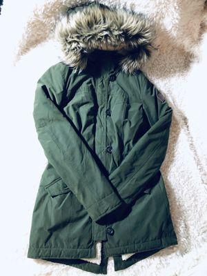 Hollister Sherpa Parka Size XS for Sale in Plantation, FL