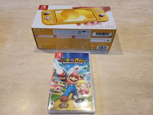 Nintendo Switch Lite with Mario & Rabbids $249 for Sale in San Diego, CA