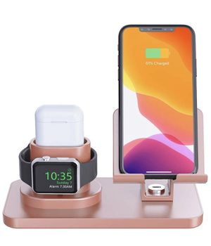 Apple Watch Stand, Universal Apple Charging Station for Airpods 2/1 Apple Watch Series 4/3/2/1 iPhone Xs Max XS XR X 8 7 6S 6 Plus Smartphone iPad Ta for Sale in Las Vegas, NV