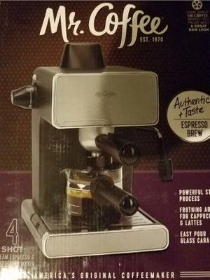 Mr Coffee Espresso and Cappuccino Maker 4 Shot for Sale in Tampa, FL
