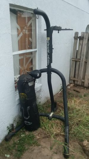 Everlast speed bag and punching bag with stand for Sale in Lockhart, FL