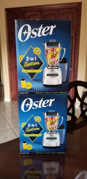 New Oster 2 in 1 blender with 20oz smoothies cup for Sale in Riverside, CA